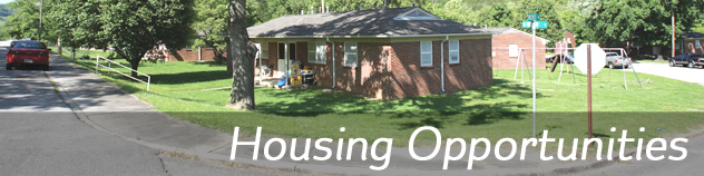 housing opporunities banner